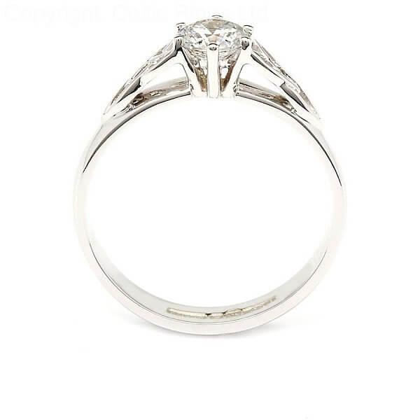 Trinity Knot Engagement Ring Celtic Rings Ltd