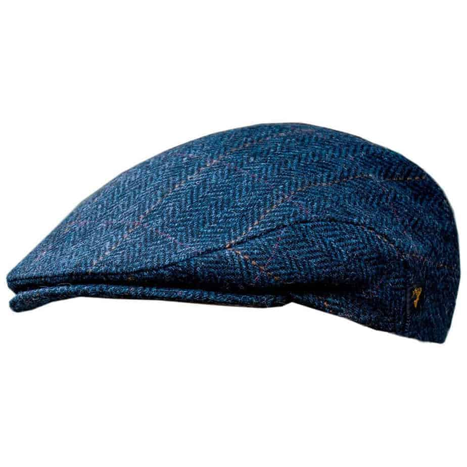 Irish Wool Hat For Men Blue Ships From Us Location 100