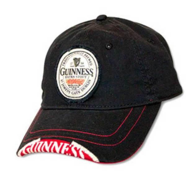 Guinness Cap - Black Red