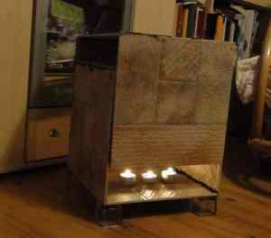 einen teelichtofen bauen katuschka s celticgarden. Black Bedroom Furniture Sets. Home Design Ideas