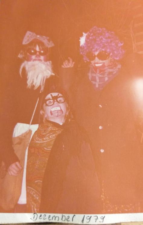 Rummelpottlaufen, alter Silvester Brauch