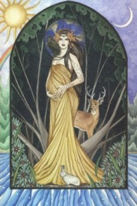 Dana or Danu Source Goddess of the Celtic Tradition