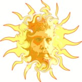 Solar god parallels in world mythology