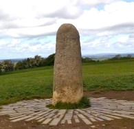 Stone of Destiny Tara Hill Ireland