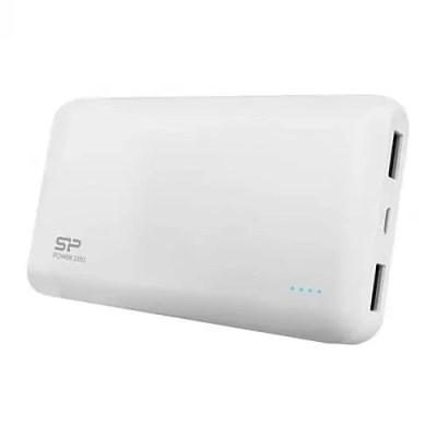 Silicon Power S150 15000mAh Power Bank Dual White