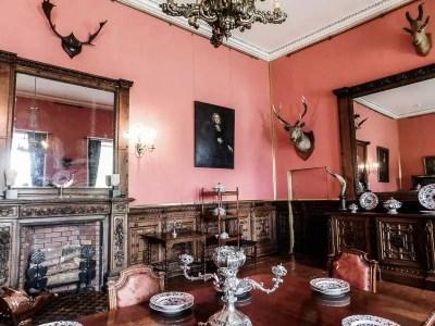 Dining Room in Ardgillan Castle, Ireland