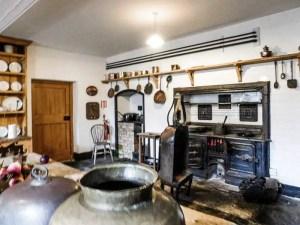 Kitchen in Ardgillan Castle, Ireland