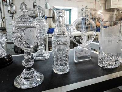 Awards made of Waterford Crystal, Waterford, Ireland