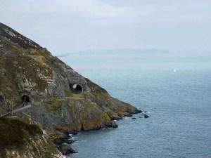 Cliff between Bray and Greystones