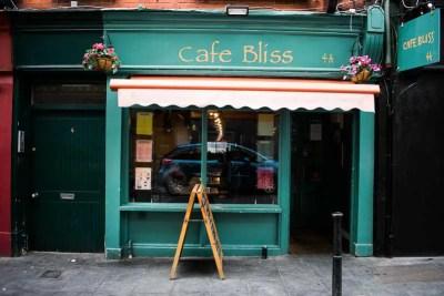 Cafe Bliss, Camden Street, Dublin