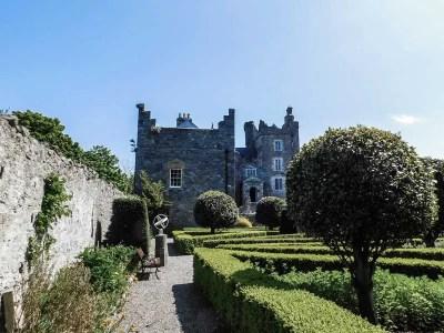 Garden in Drimnagh Castle, Dublin