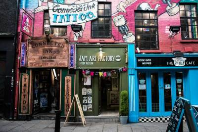 Jam Art Factory, Irish Art and Design Shop in Temple Bar, Dublin