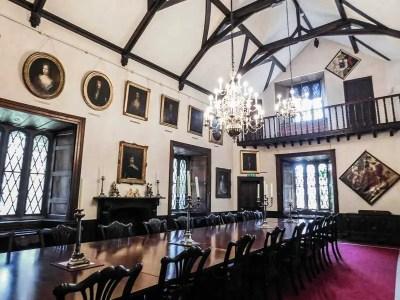 Great Hall in Malahide Castle, Ireland