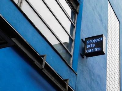 The Project Arts Centre in Temple Bar, Dublin