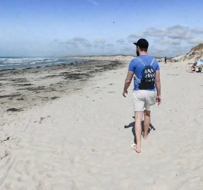 Stroll on the Beach, La Torche, Brittany