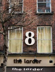 The Larder, Restaurant in Temple Bar, Dublin