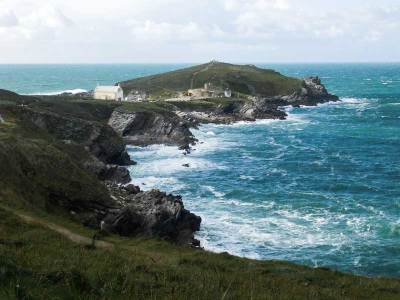 Towan Headland, Newquay, UK