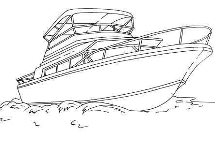 Omalovánky k vytisknutí: Technika: Lodě