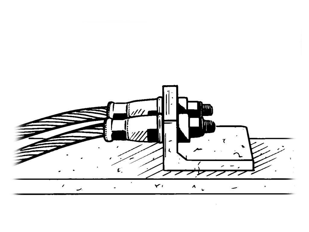 Rail web Permanent Electrical Contact AR60D