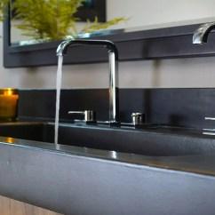 Cement Kitchen Sink Island Table Concrete Sinks With Naturecast Elegance