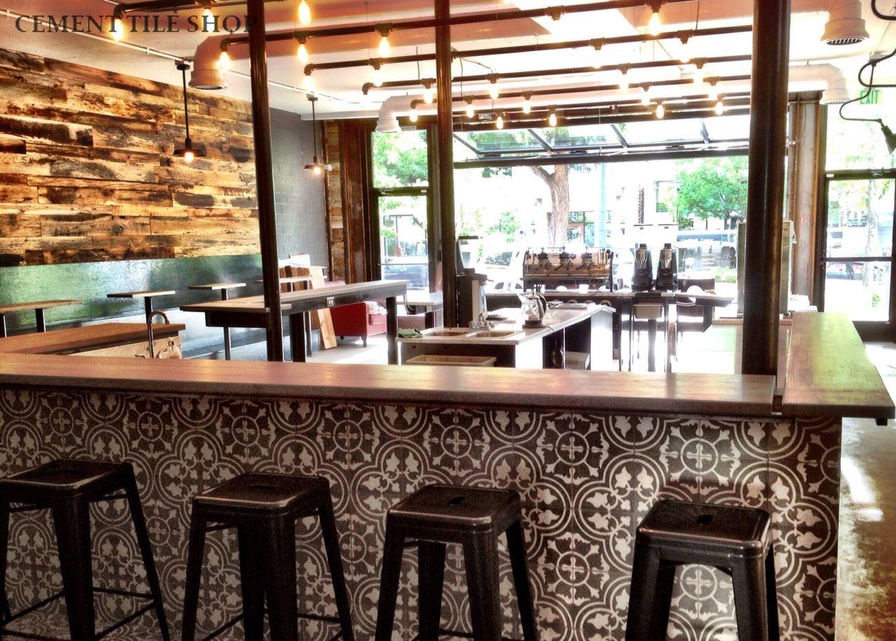 Aviano Coffee  Denver Colorado  Cement Tile Shop Blog