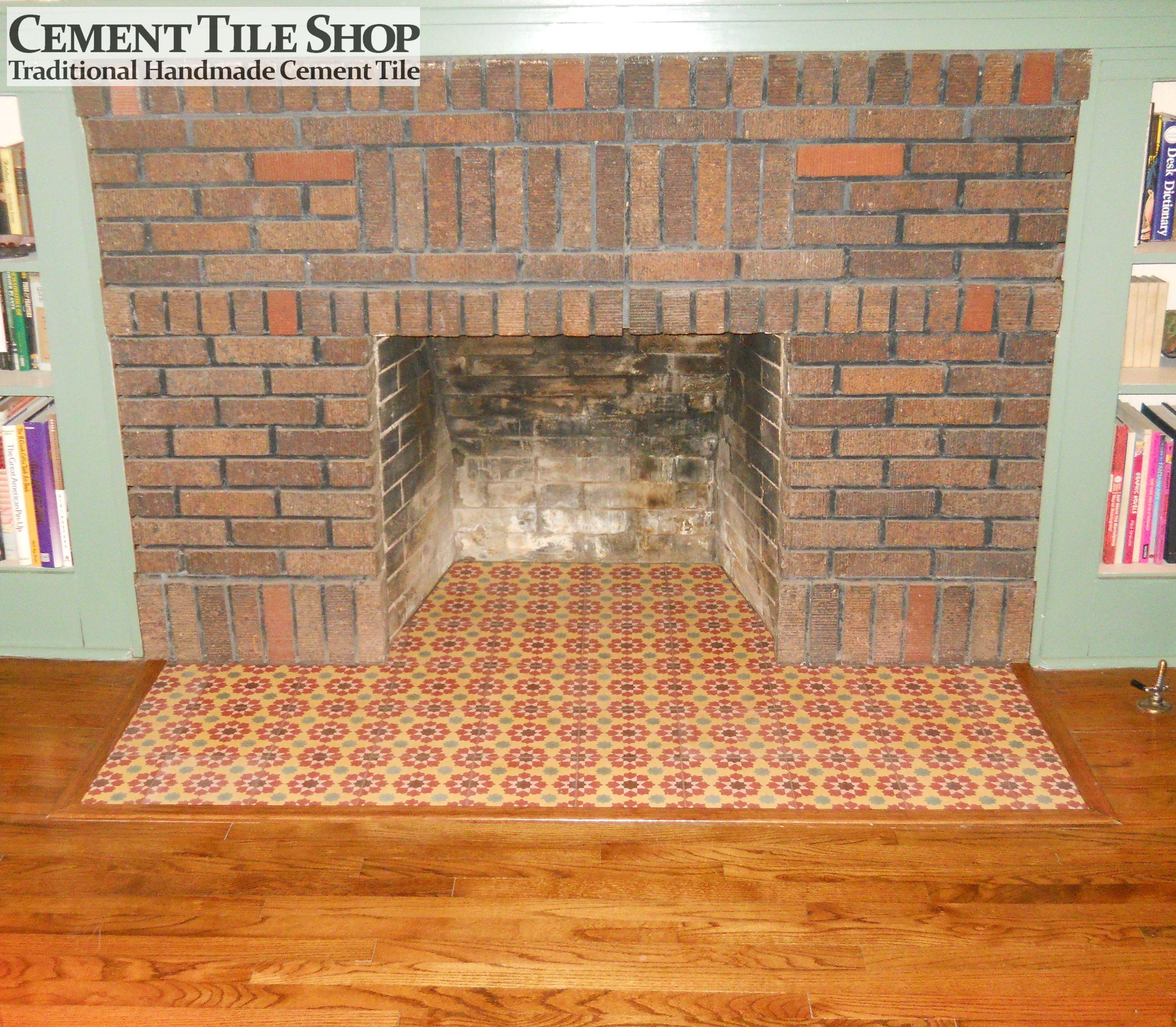 Fireplace Remodel  San Antonio TX  Cement Tile Shop Blog