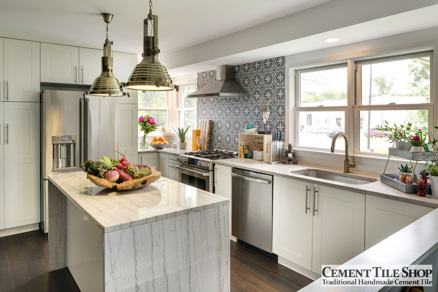 cement tile kitchen blanco silgranit sink backsplash shop blog bordeaux crush collective 2