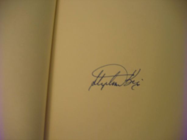 Stephen King's signature
