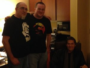 Brian, Stephen Kozeniewski, and Jack Ketchum (Copyright Bryan Killian 2016)
