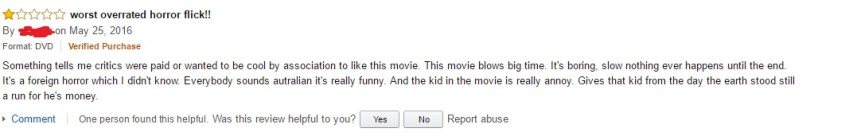 babadook review by a monster