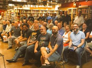 Some of the crowd at The Poisoned Pen in Phoenix. (Photo Copyright 2016 Brian Keene)