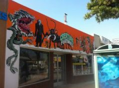 Creature Features storefront. (Photo Copyright 2016 Brian Keene)