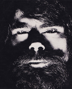 Stephen King author photo from Creepshow.