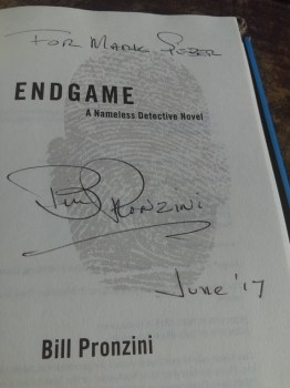 Mark Sieber's signed copy of Endgame