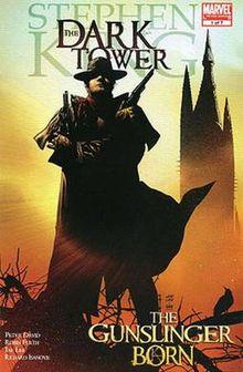 cover of The Dark Tower: The Gunslinger Born from Marvel Comics