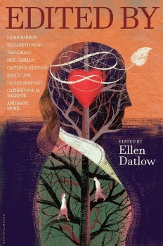 cover of Edited By, a collection of short stories edited by Elle Datlow