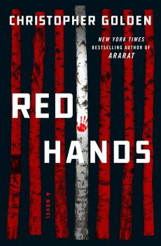 cover of Christopher Golden's novel Red Hands