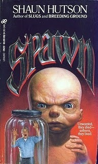 cover of Spawn by Shaun Hutson