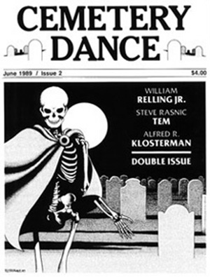 cover of Cemetery Dance #2