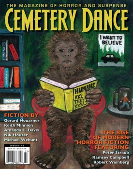 cover of Cemetery Dance 73