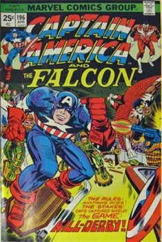 cover of Captain America and The Falcon #196