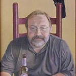illustration of author Jeffrey Ford