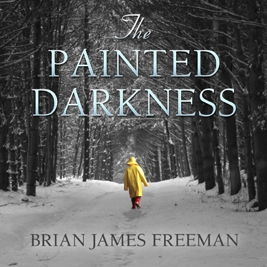 The Painted Darkness Audiobook Cover