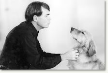 Dean Koontz and Trixie