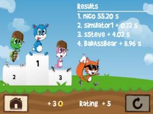 Fun Run birincilik kürsüsü :)