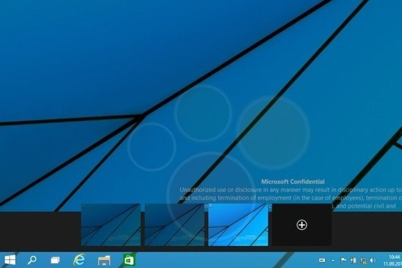 Windows 9 Sanal Masaüstü