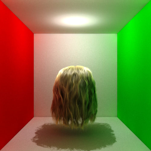 Hair Rendering With Global Illumination Cem Yuksel
