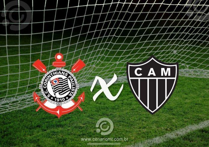 Veja onde assistir Corinthians x Atlético-MG que se enfrentam neste domingo na Arena Corinthians, pela 17ª rodada da competição