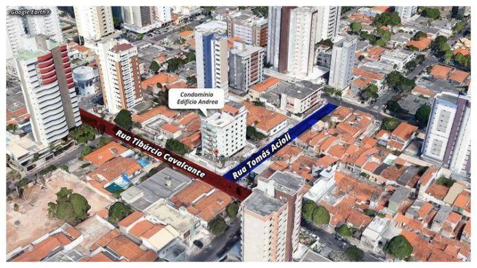 desabamento em Fortaleza