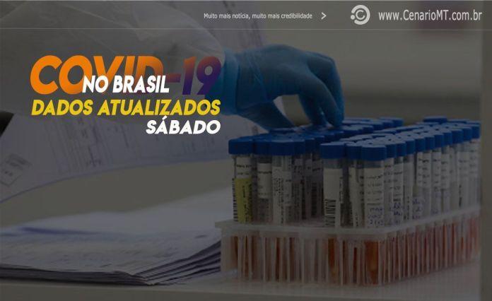 DADOS SÁBADO COVID-19 EM MATO GROSSO